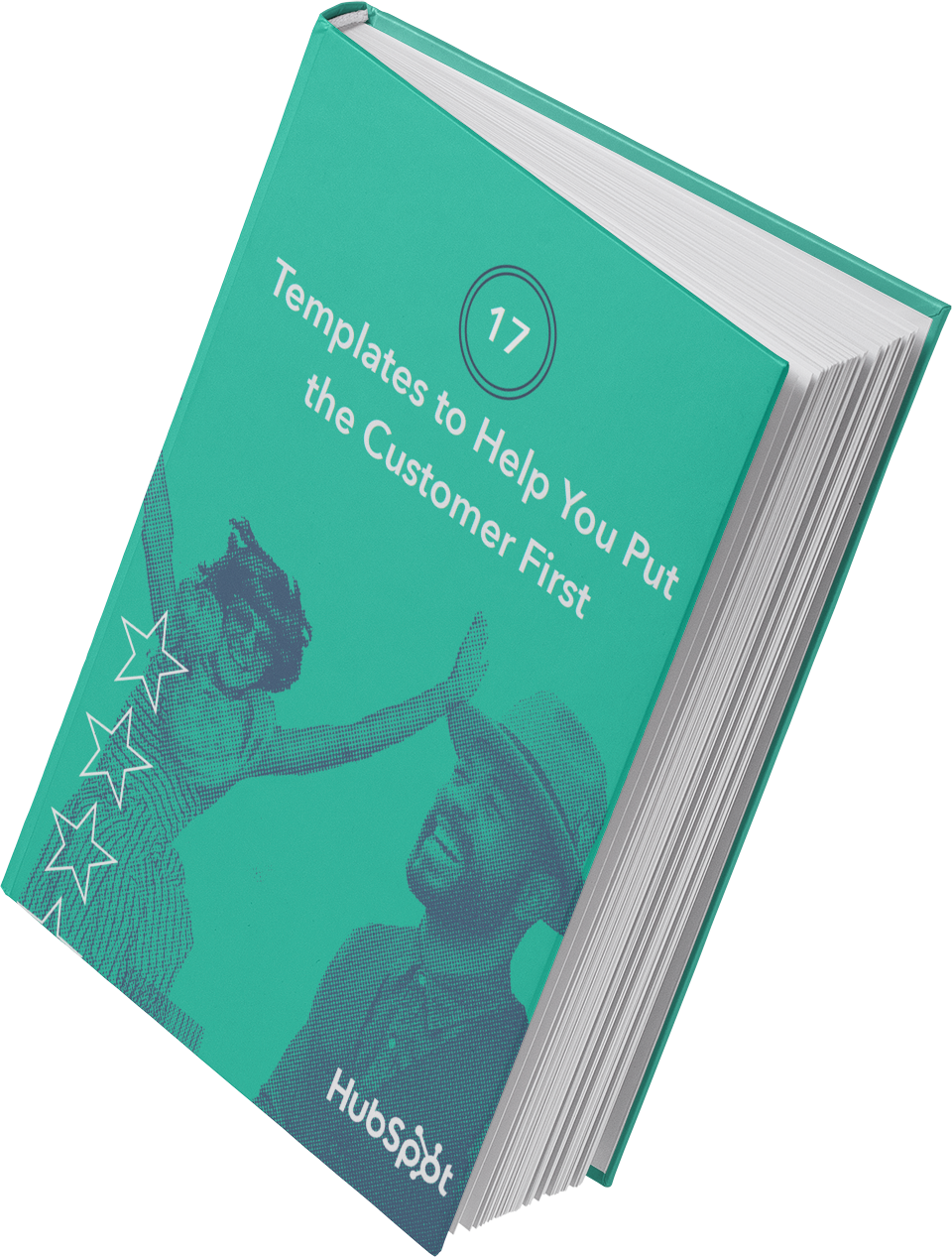 image of hubspot's templates to help readers put the customer first