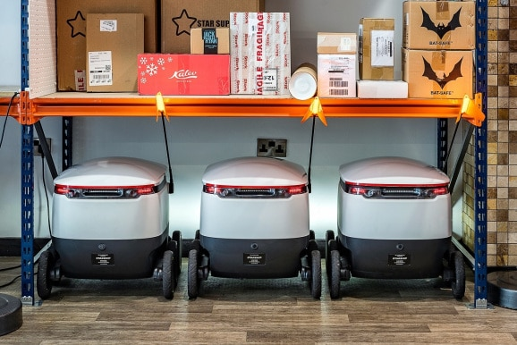 Starship Technologies: Package deliveries