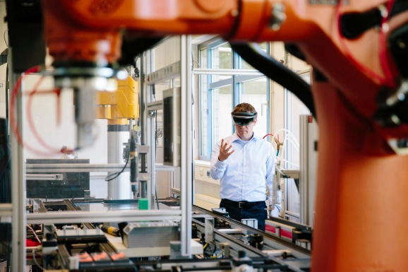 Expect high-bandwidth technologies, such as augmented and virtual reality visualization, to play an increasing role in manufacturing as engineers and floor technicians can improve physical processes with virtual guidance. 5G will give these workers greater ability to perform these tasks wherever needed.